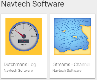 Preview of Navtech Software Android app icons on Google Play store